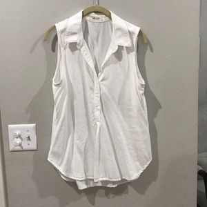 Bella Dahl Half Button Up Top